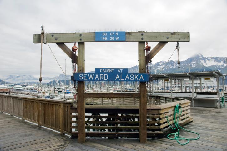 Die Hafenstadt Seward