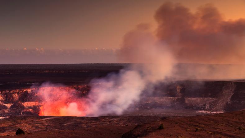 Vulkantour auf Hawaii