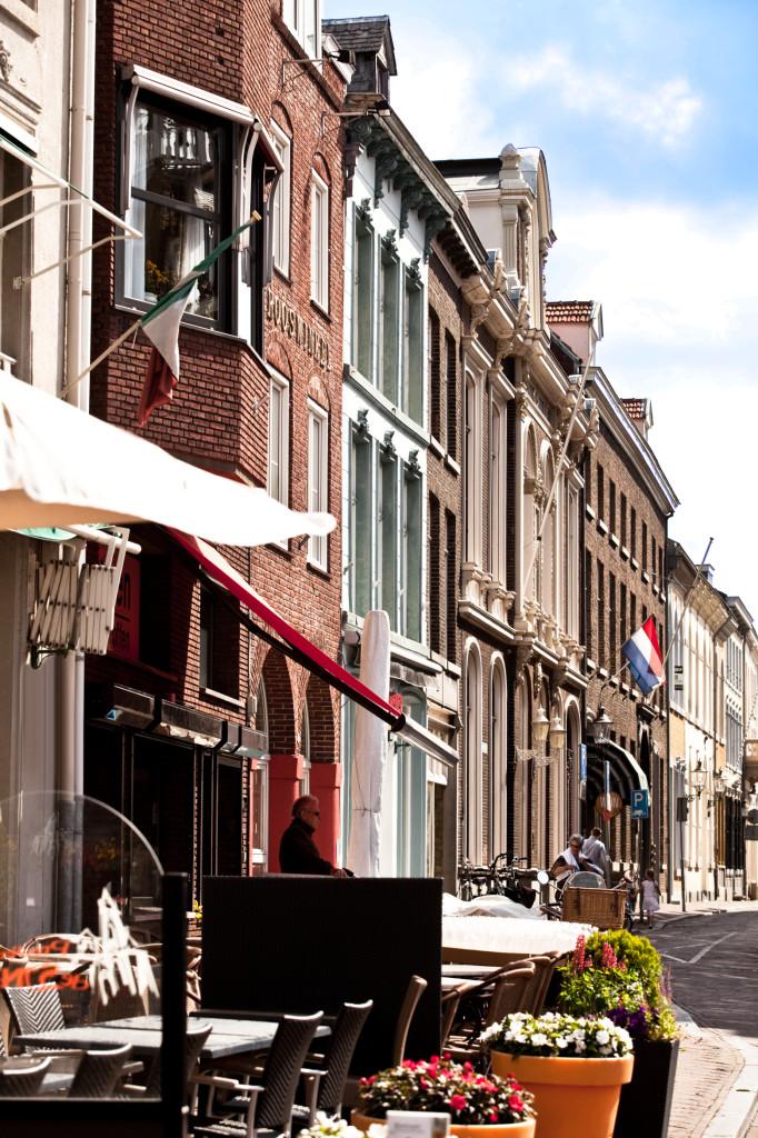 Wunderschöne verwinkelte Gassen und tolle Straßenviertel in Roermond