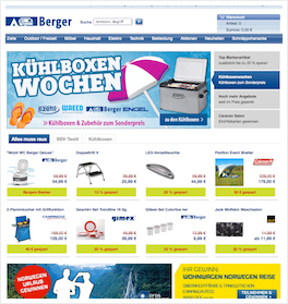 Fritz Berger Online Shop