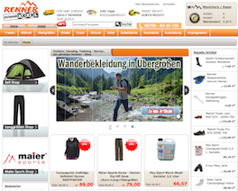 Outdoor Renner Online Shop