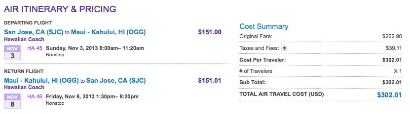 Hawaiian Airlines - Günstige Flüge