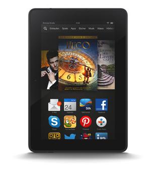 Das neue Kindle Fire HDX 7-Zoll