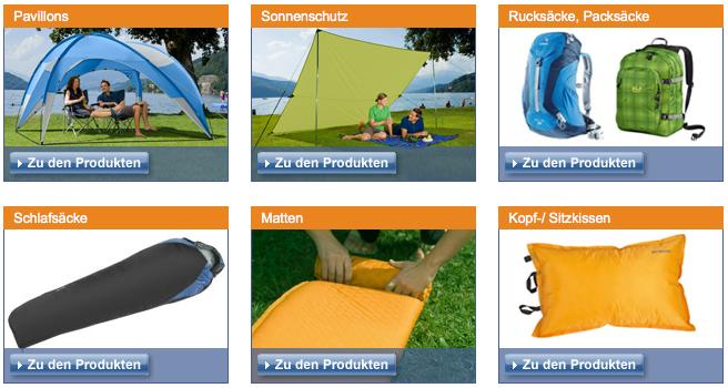 Fritz-Berger Campingsortiment