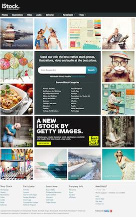 iStock Screenshot