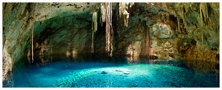 Cenotes in Yucatan Mexiko