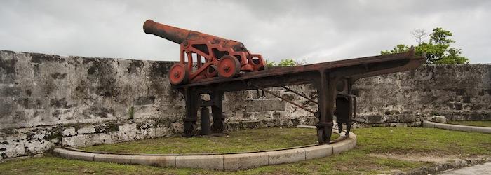 Bahamas Sehenswürdigkeiten - Bild: ©Glenys Gustin / iStock - Fort Fincastle Festung