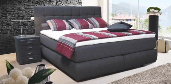 boxspringbett test vergleich vorteile nachteile und tipps f r den kauf der luxusbetten. Black Bedroom Furniture Sets. Home Design Ideas