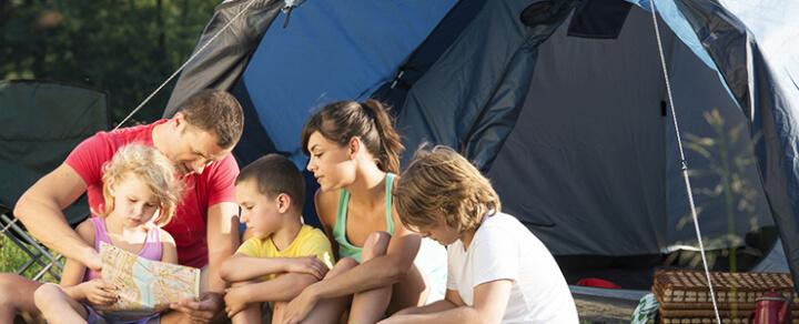 Camping Urlaub mit der Familie – Die Checkliste für den Outdoor-Urlaub