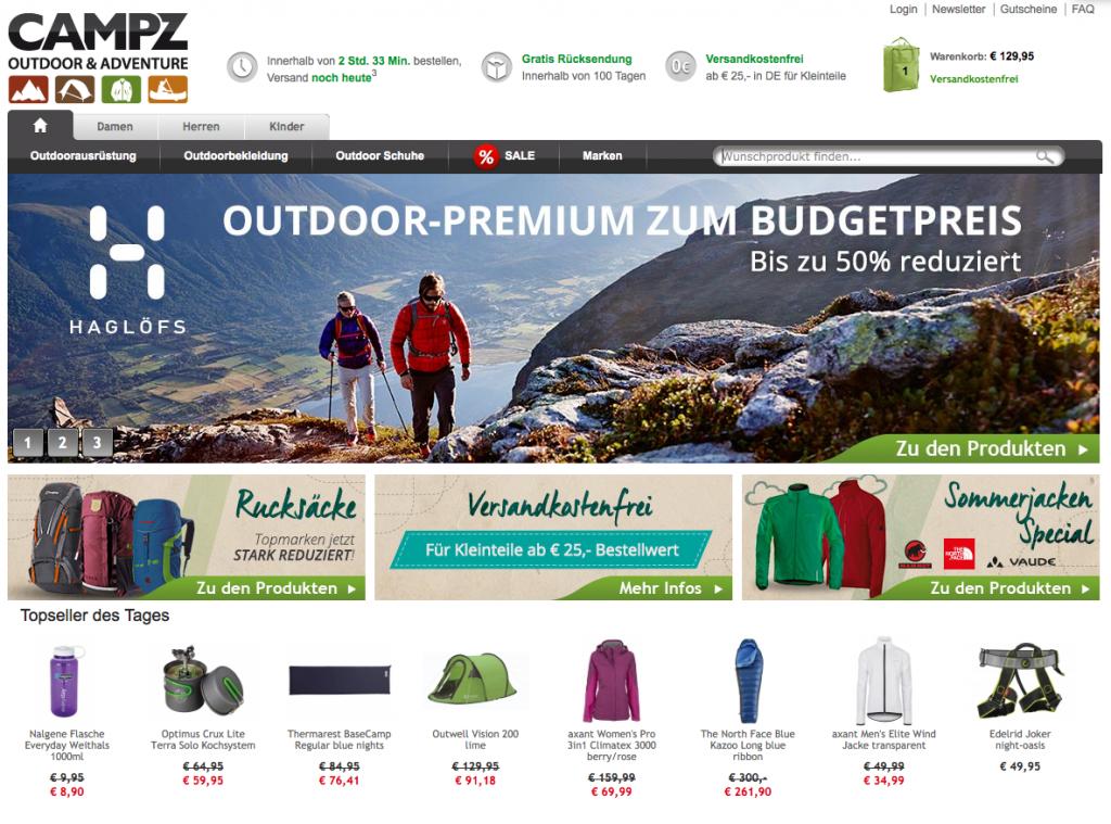 Campz.de Startseite