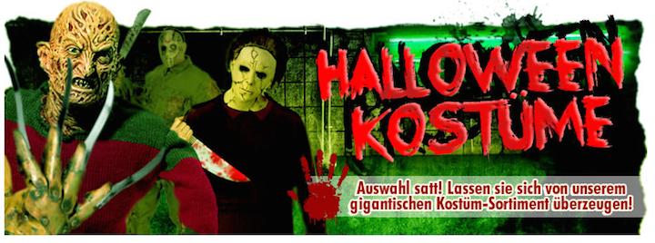 Große Auswahl: Halloween Kostüme für Damen, Herren und Kinder bei horrorklinik.de