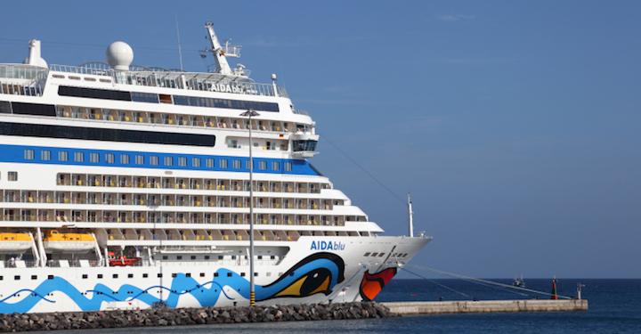 Bildnachweis: ©typhoonski / iStock Editioral - AIDAblu Kreuzfahrtschiff