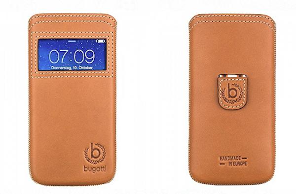 Praktisch: Gut verpackt und trotzdem alles im Blick mit der Bugatti Watch! Hülle
