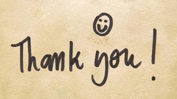 Die schönsten Wege Danke zu sagen und die Kunst, sich stilvoll zu bedanken