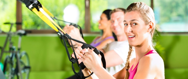Fitness: Was ist ein Sling Trainer bzw. Suspension Training?