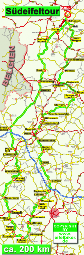 Südeifel-Tour Quelle: http://eifelbiker.de/EifelTouren_8599