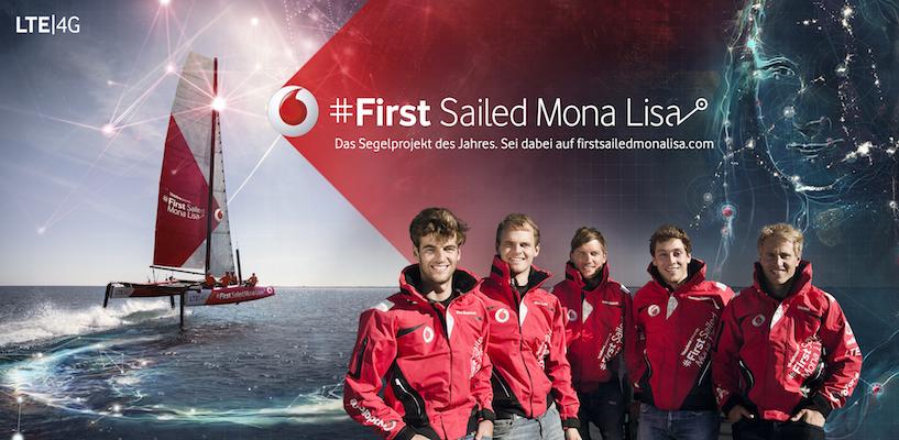 Präzises Kunstwerk durch Segeln in die Ostsee gebracht – First Sailed Mona Lisa