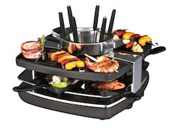 Gastroback  42559 Design Raclette-Fondue Set