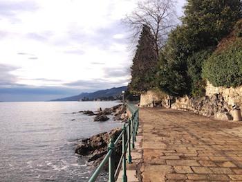 Press Trip Opatija Promenade