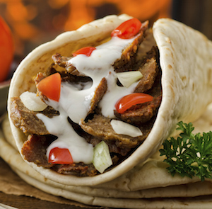 Bild: ©Fudio / iStock - Shawarma