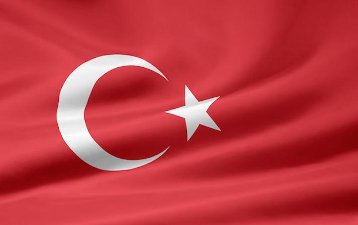 Die türkische Flagge | © panthermedia.net /Juergen Priewe
