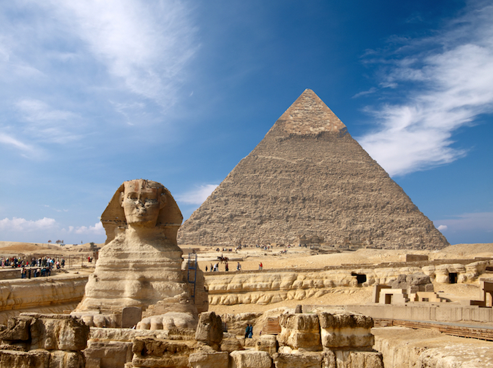 Die Pyramiden in Ägypten   © panthermedia.net /Ukrainian