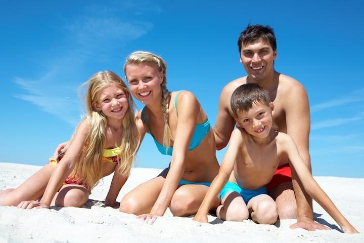 Spaß im Familienurlaub | © panthermedia.net /Dmitriy Shironosov