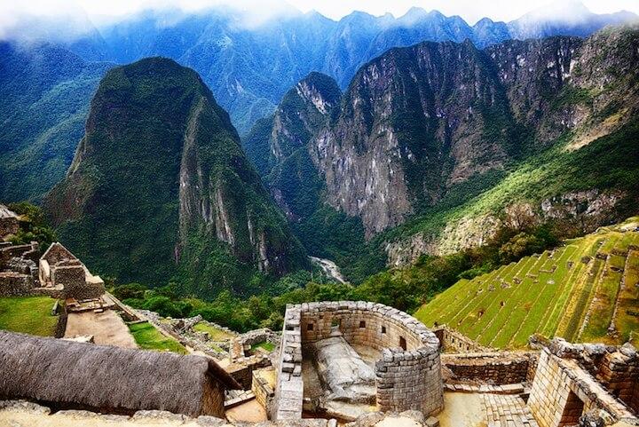 Blick aus Machu Picchu | © panthermedia.net / lermannika