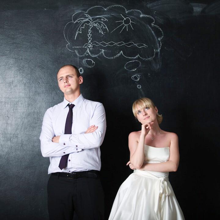 Paar denkt nach | © panthermedia.net / KrisCole