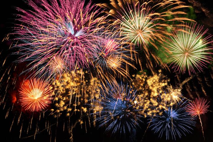 Weihnachtsfeuerwerk in England | © panthermedia.net / ginosphotos1