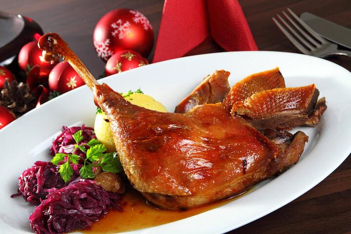 zu fettiges Essen an Weihnachten | © panthermedia.net / matthias fährmann