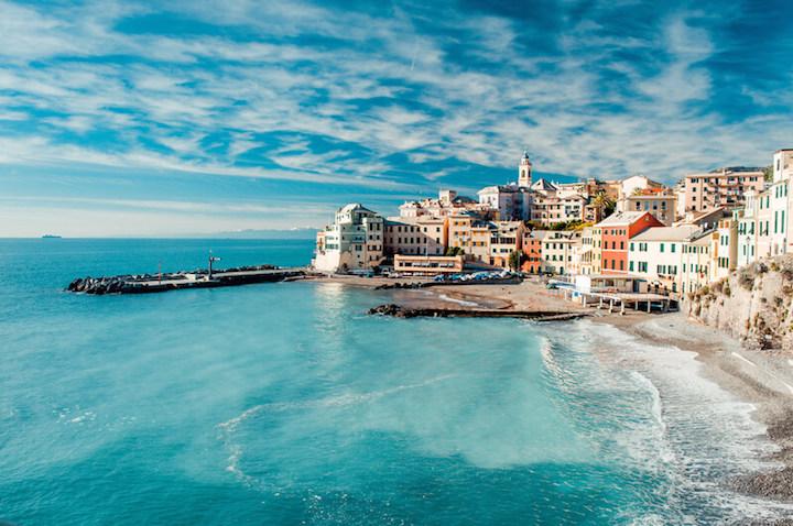 Auswandern nach Italien - Das Fischerdorf Bogliasco | © panthermedia.net /amoklv