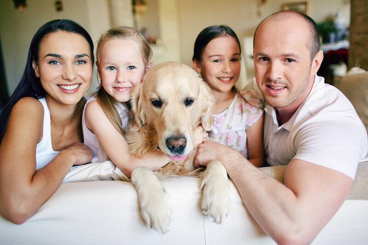 Der betse Freund des Menschen ist der Hund | © panthermedia.net /Dmitriy Shironosov