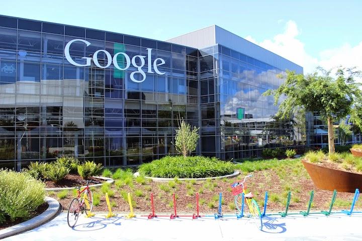 Google Hauptsitz in Kalifornien - Quelle: www.google.com