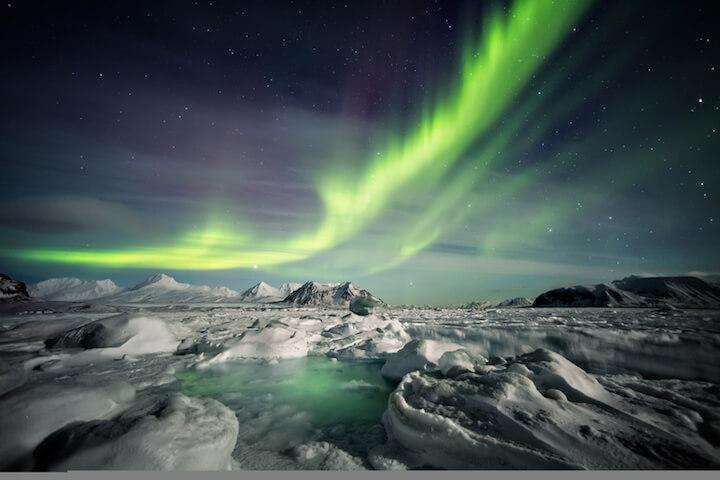 Nordlichter in Island | © panthermedia.net / erectus