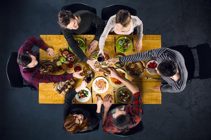 Wein zum Essen | © panthermedia.net /dima_sidelnikov