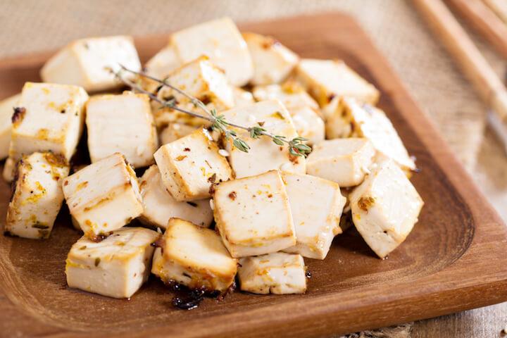 Geraeucherter Tofu | © panthermedia.net / fahrwasser