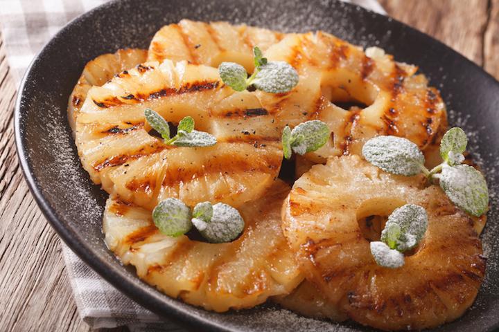 Die besten Gasgrill Rezepte: Grill-Ananas