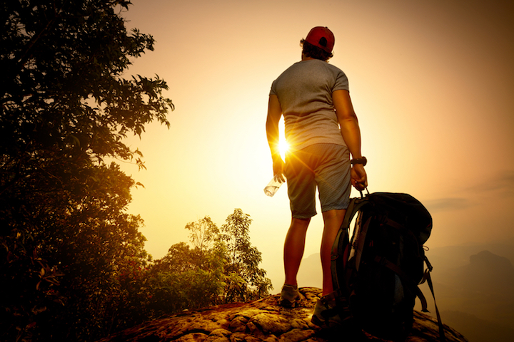 Abenteuer Backpacking |© panthermedia.net / mihtiander