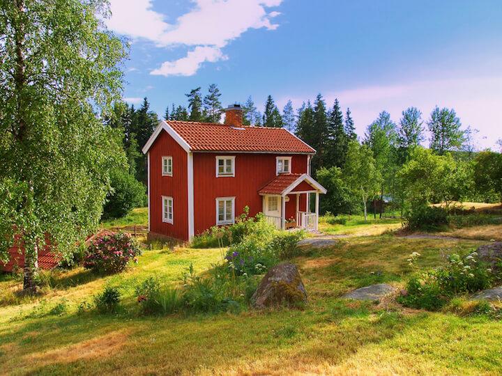 Schwedenhaus nun auch in Deutschland | © panthermedia.net / Ingo Dörenberg