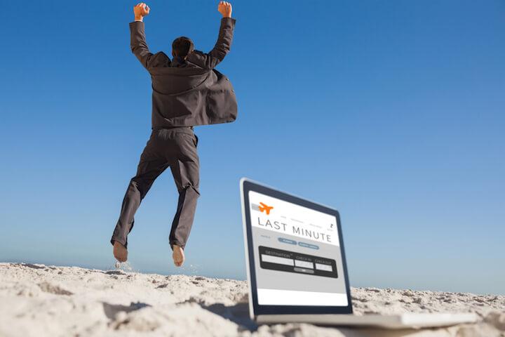 Mit Last-Minute in den Urlaub   © panthermedia.net / Wavebreakmedia ltd