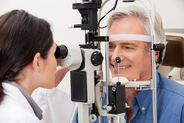 Routineuntersuchung Augenarzt | © panthermedia.net / SimpleFoto