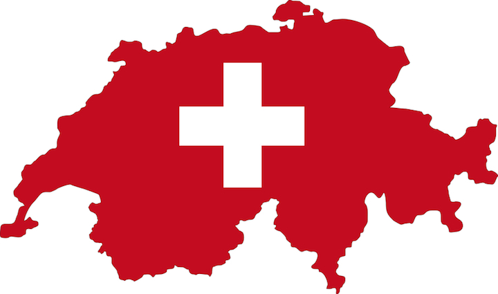 Schweiz Karte | © panthermedia.net /Norma Widmer