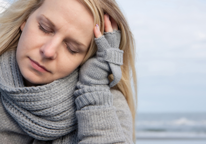 Halsschmerzen in der Schwangerschaft | © panthermedia.net /Dominika Lukaszun