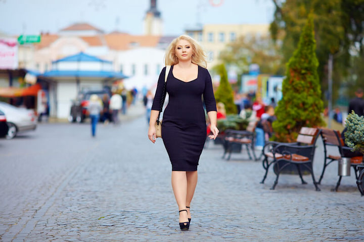 Mode für kurvige Frauen | © panthermedia.net /olesiabilkei