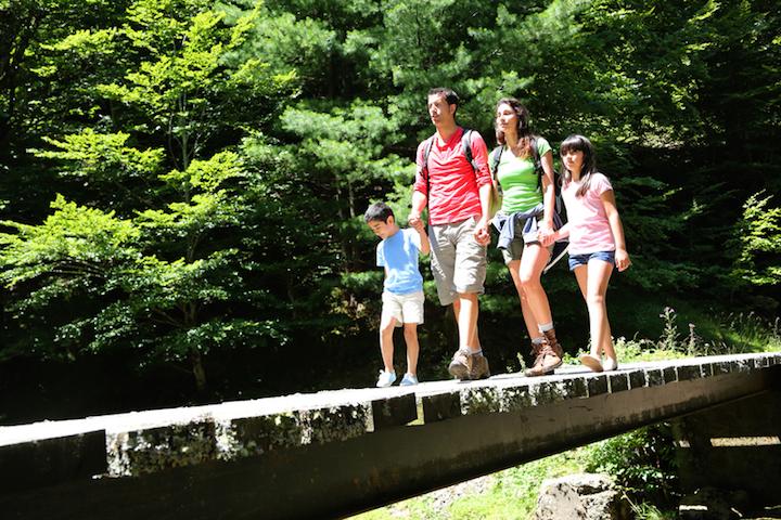 Wanderurlaub Kinder Familie | © panthermedia.net /Goodluz