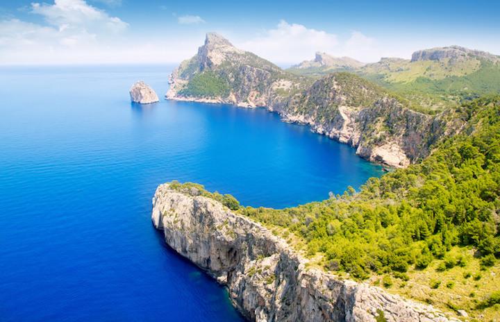 Steilküste Mallorcas | © panthermedia.net /lunamarina