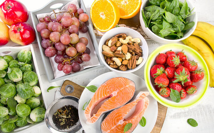 Mineralstoffe in Lebensmitteln | © panthermedia.net /bit245