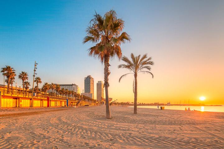 Strand Barcelona | © panthermedia.net /boule1301