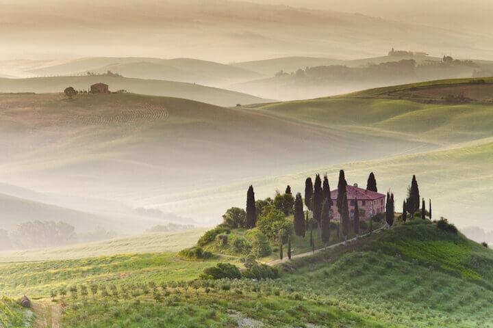 Auswandern in die schöne Toskana |© panthermedia.net /selitbul